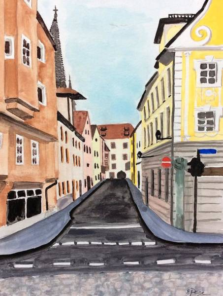 Painting - Regensburg by Emily Page