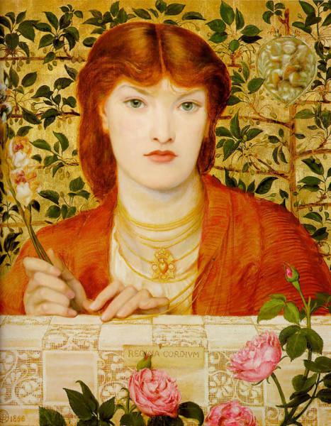Painting - Regina Cordium by Dante Gabriel Rossetti