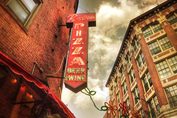 Pizza Photograph - Regina Pizza - Boston North End by Joann Vitali