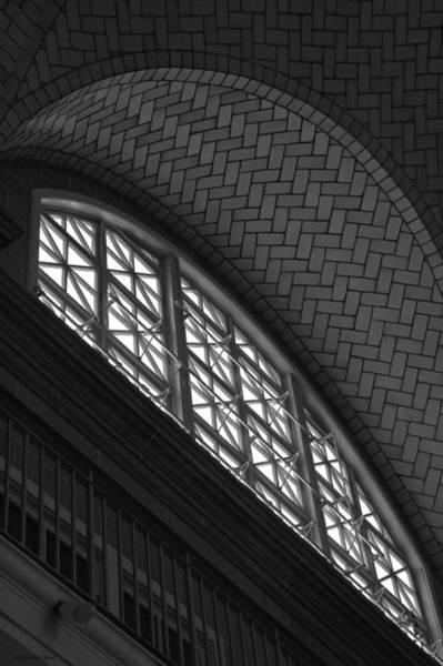 Photograph - Registry Room Window - Ellis Island by Frank Mari