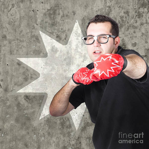 Workout Photograph - Regular Guy Exercising. Bootcamp Fitness Workout by Jorgo Photography - Wall Art Gallery