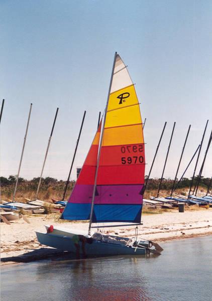 Rehobeth Sailing Art Print
