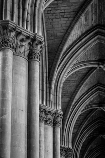 Wall Art - Photograph - Reims Cathedral  by W Chris Fooshee