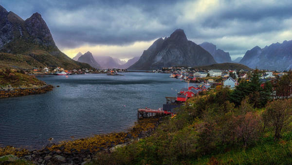 Photograph - Reine by James Billings