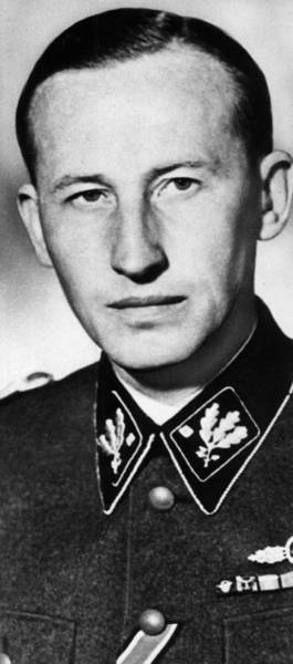 Holocaust Photograph - Reinhard Heydrich 1904-1942, High by Everett