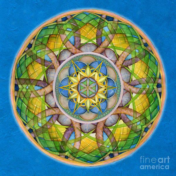 Painting - Rejuvenation Mandala by Jo Thomas Blaine
