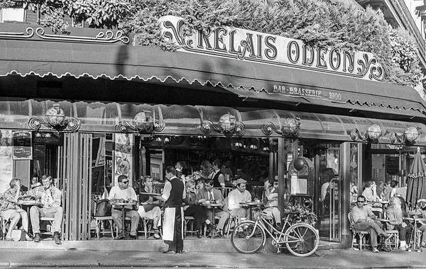Photograph - Relais Odeon Cafe, Paris by Frank DiMarco