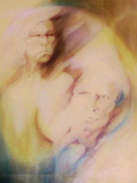 Painting - Relationship by Denise F Fulmer