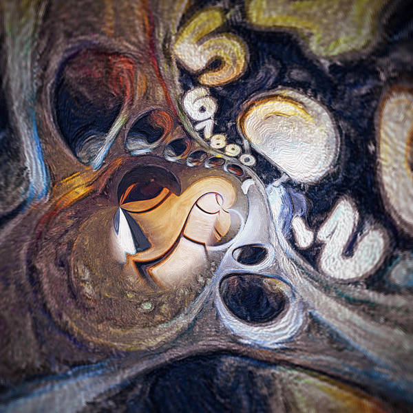 Deadline Painting - Relativity by Sezer Akdeniz