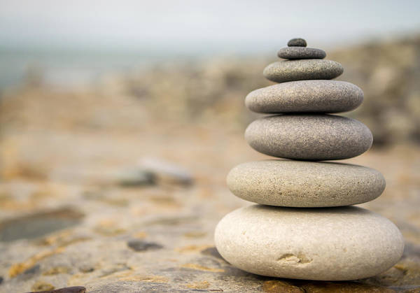 Photograph - Relaxation Stones by John Williams