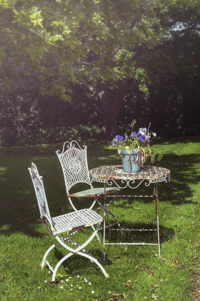 English Garden Photograph - Relaxing Day In The Sun by Joana Kruse