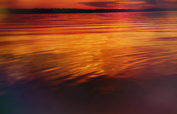 Photograph - Relaxing Sunset Reflection by Dan Sproul