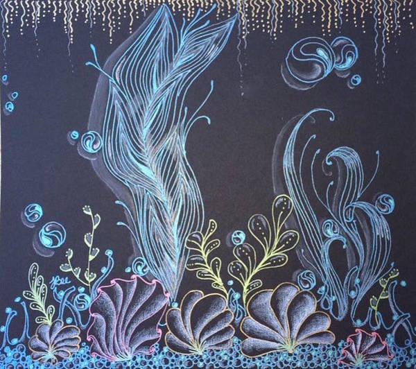 Drawing - Release by Jan Steinle