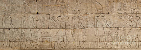 Wall Art - Relief - Relief From The Temple Of Dendur by Egyptian School