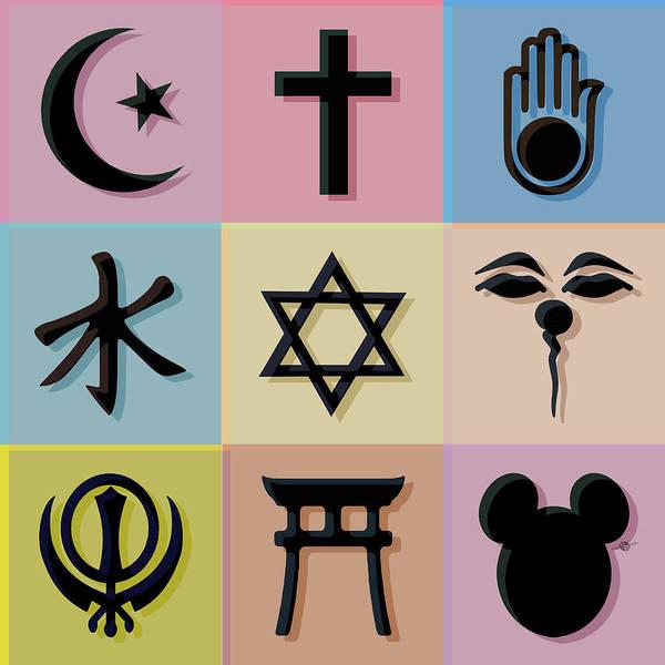 Painting - Religion? 2 by Tony Rubino