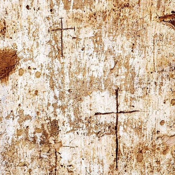 Religious Wall Art - Photograph - Religious Graffiti On The Wall Of The by Scott Pellegrin