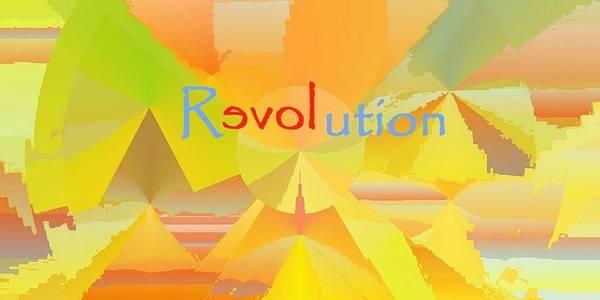 Digital Art - Reloveution by Julia Woodman