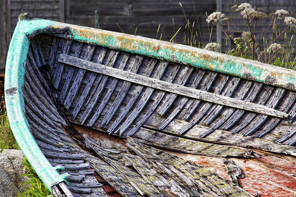 Photograph - Remainings Of A Fishing Boat by Tatiana Travelways