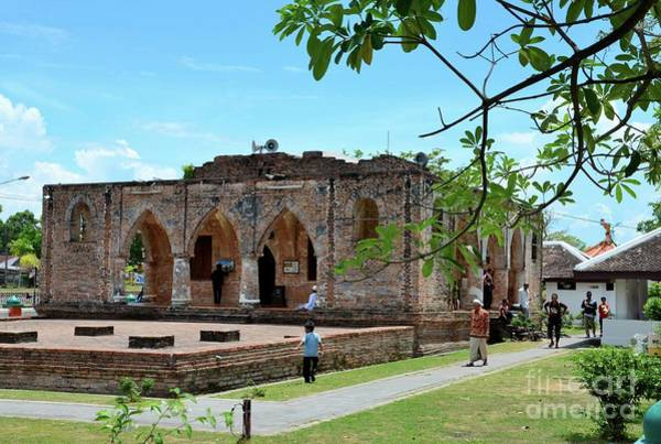 Photograph - Remains Of The 18th Century Krue Se Mosque Pattani Thailand by Imran Ahmed