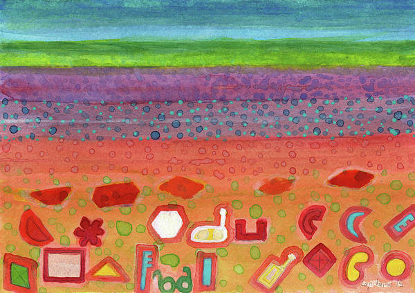 Similar Painting - Remains On The Landscape by Heidi Capitaine