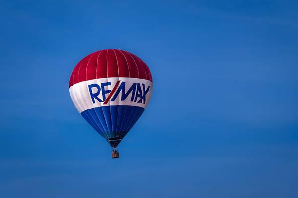 Photograph - Remax Hot Air Balloon by Ron Pate