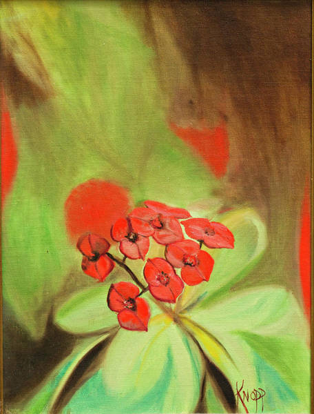 Painting - Remberance Poppy by Kathy Knopp