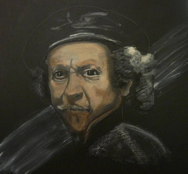 Painting - Rembrandt And Colour by Richard Le Page