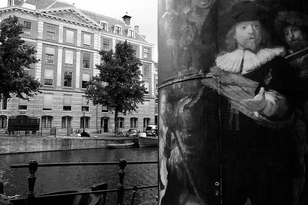 Photograph - Rembrandt In Amsterdam by August Timmermans