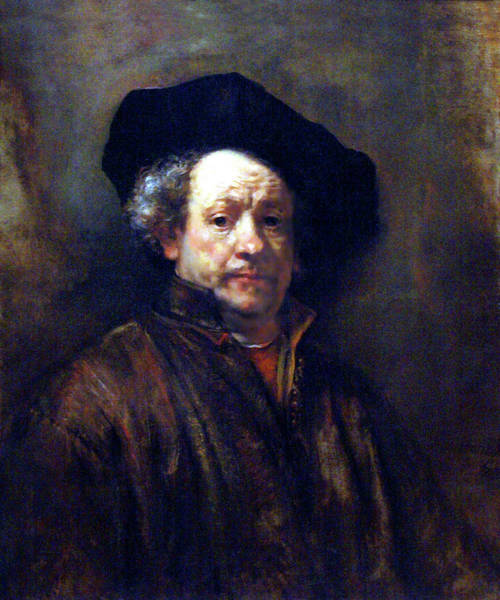 Wall Art - Painting - Rembrandt Self Portrait 1660 by Rembrandt