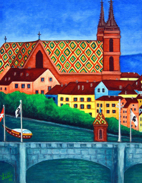 Painting - Remembering Basel by Lisa Lorenz