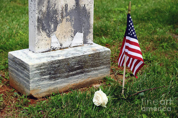 Photograph - Remembering The Fallen On Memorial Day by James Brunker