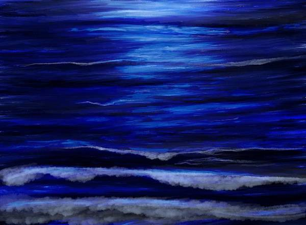 Wall Art - Mixed Media - Remembering The Waves by Lisa Stanley