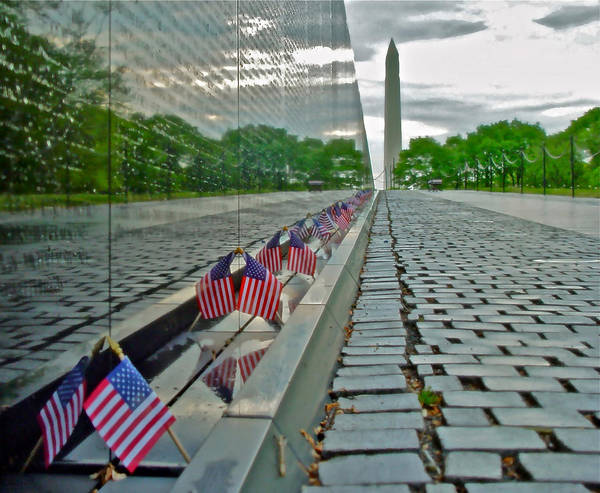 Photograph - Remembrance Of Patriotism by Don Mercer