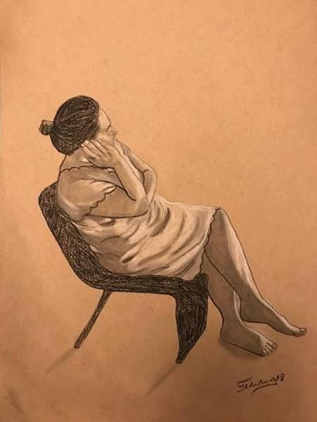 Drawing - Remembranzas by Thelma Delgado