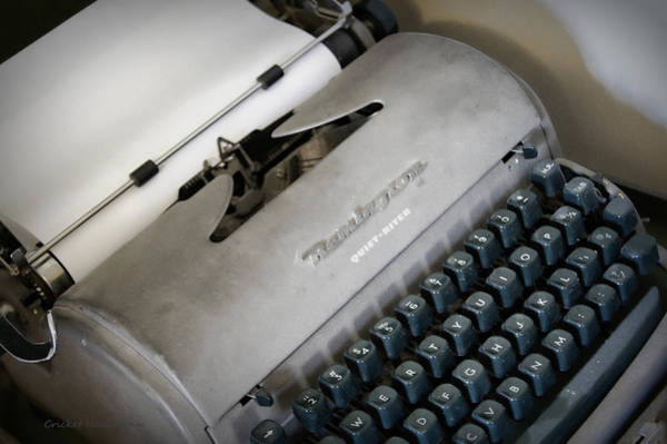 Photograph - Remington Quiet Riter by Cricket Hackmann