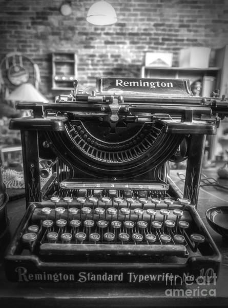 Photograph - Remington Standard Typewriter No. 10 by Bitter Buffalo Photography