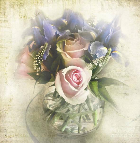Wedding Flower Photograph - Reminiscence by Elena Nosyreva