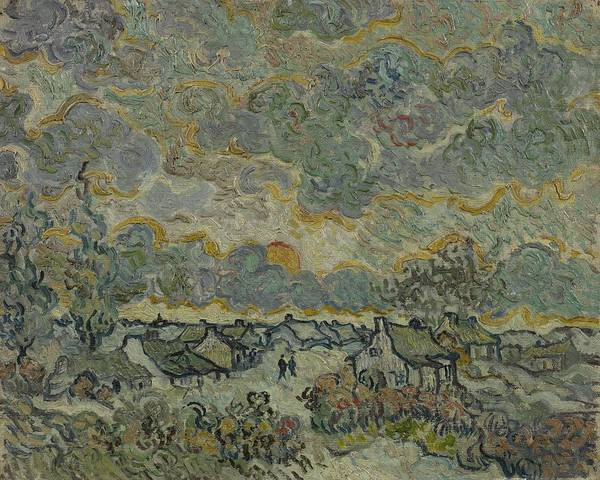 Painting - Reminiscence Of Brabant Saint Remy De Provence March - April 1890 Vincent Van Gogh 1853  1890 by Artistic Panda