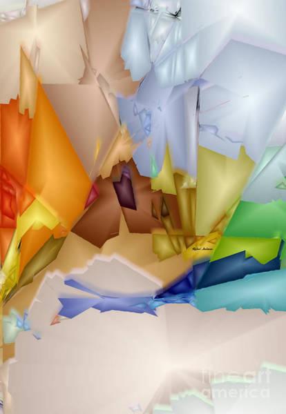 Digital Art - Remixed Element by Rafael Salazar