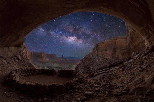 Photograph - Remnants     -false Kiva by Ryan Smith