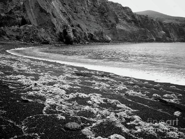 Wall Art - Photograph - Remote Volcanic Beach by Gaspar Avila