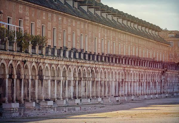 Wall Art - Photograph - Renaissance Arches Aranjuez Spain by Joan Carroll