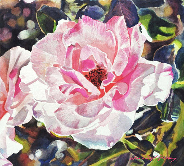 Painting - Renaissance Rose Blossom by David Lloyd Glover