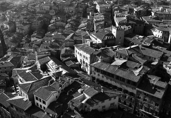 Roof Top Photograph - Renaissance Streets - 2 Of 2 by Alan Todd
