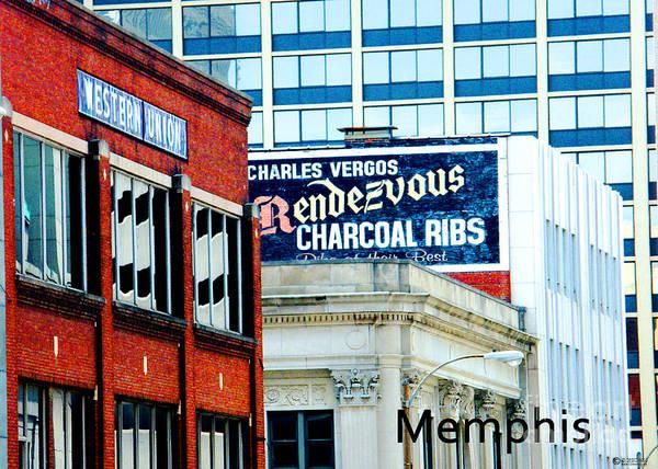Photograph - Rendezvous Memphis by Lizi Beard-Ward