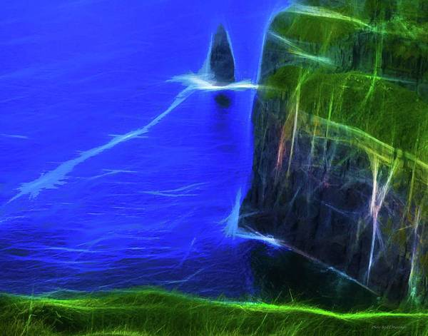 Photograph - Rendition Of Cliffs Of Moher by Coleman Mattingly