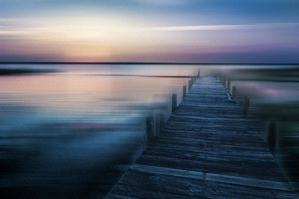 Photograph - Renewal In Blue by Debra and Dave Vanderlaan