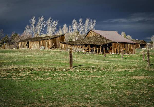 Photograph - Reno Barn by Rick Mosher