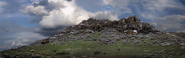 Photograph - Reno Rock Formation by Rick Mosher