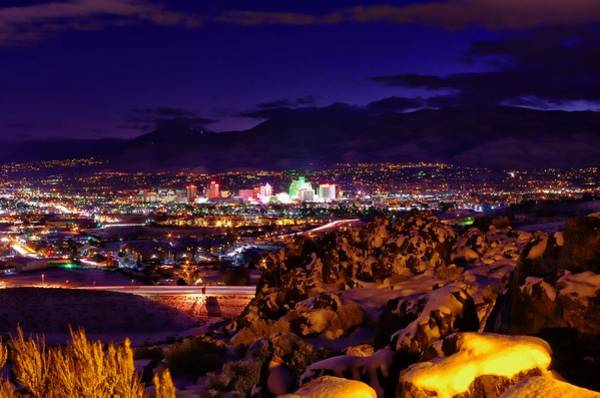 Photograph - Reno Winter  by Scott McGuire